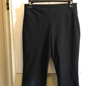 Nike Dri-fit cropped  wide leg yoga pants